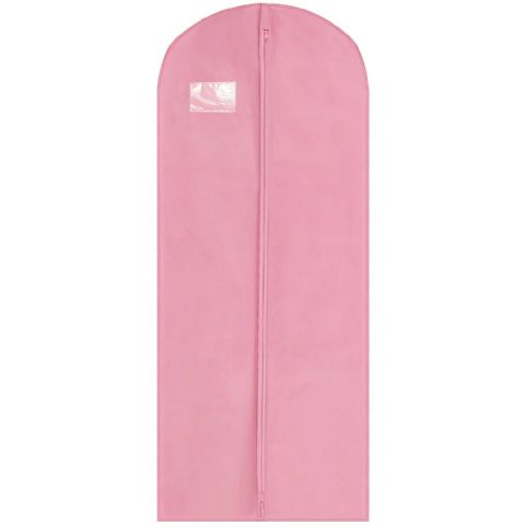 Pink Thick Long Coat Gown & Dress Cover / Carrier